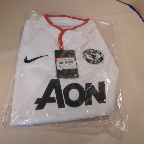8640f439e Nike Shirts & Tops | Manu Boys Ls Away Repl Jersey Soccer L 1112 ...